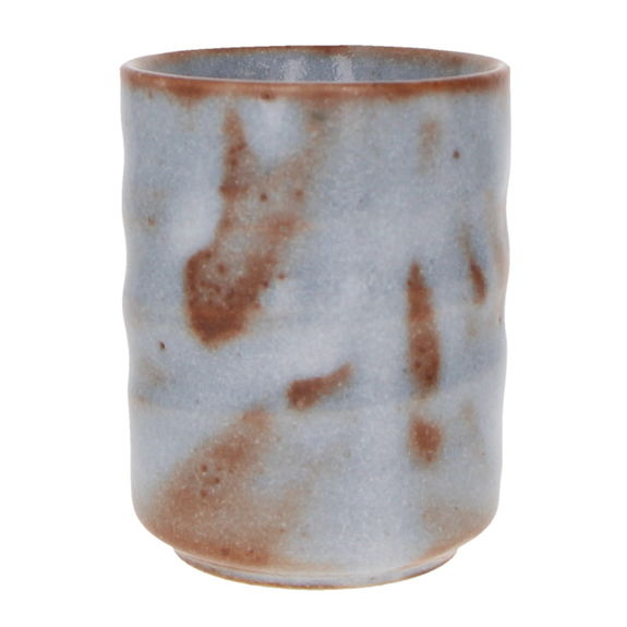 """Japanese tea tall cup """"mouse grey"""""""