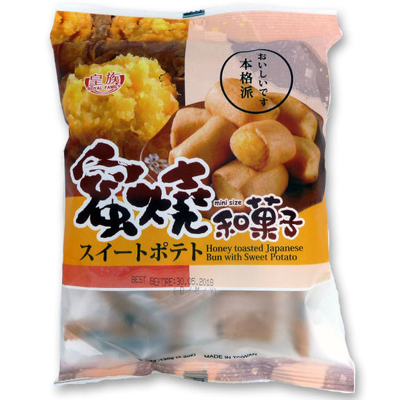 Honey toasted japanese buin with sweet potato 120g
