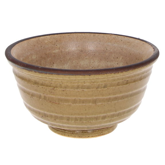 "Japanese rice bowl ""natural beige"" 12.5cm x 6.1cm"