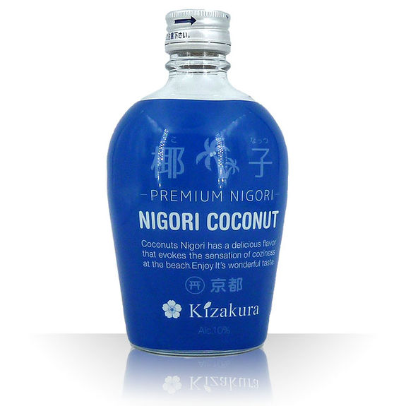 coconut nigori sake 9.5% - 300ml