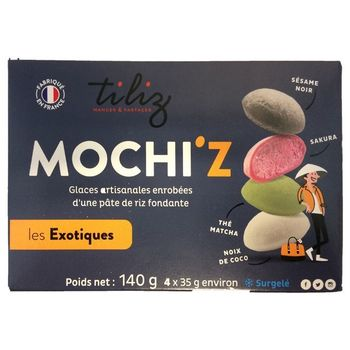 Mochi ice cream exotic 4 flavor  35gx4
