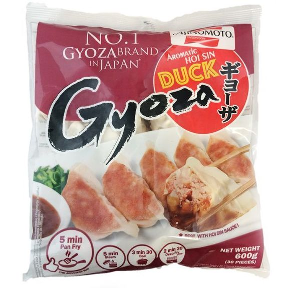 Gyoza with duck aromatic Hoi-Sin600g Ajinomoto