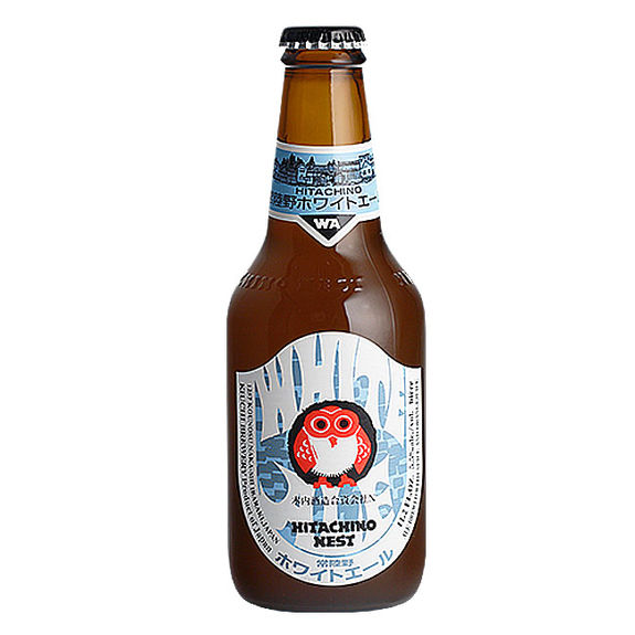 Japanese beer Hitachino Nest White Ale 5.5% 33cl