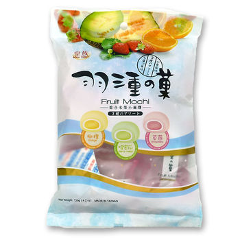 Mochi aux fruits - Orange, melon et fraise 120g