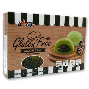 Gluten free green tea mochi 210g 6pcs