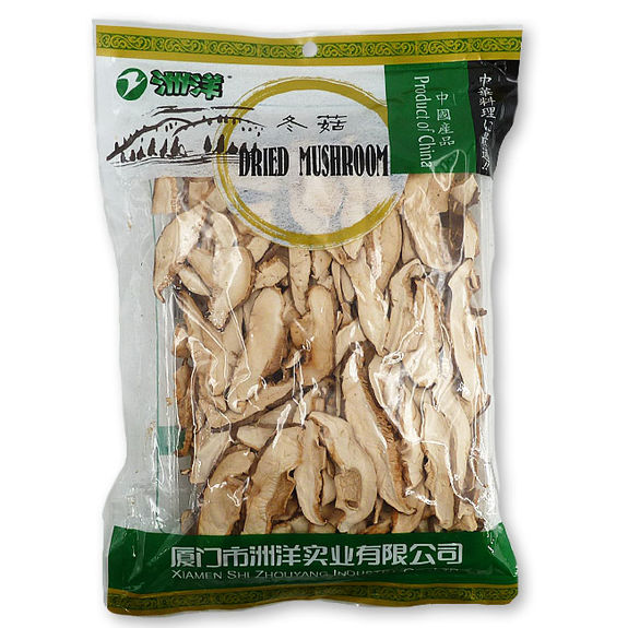 Dried thin sliced cinese shiitake Mushroom 100g