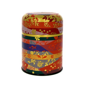 Tea canister 150g orange
