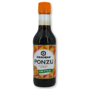 Kikkoman ponzu orange soy sauce 250ml