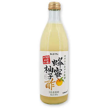 Vinegar with yuzu and honey 500ml