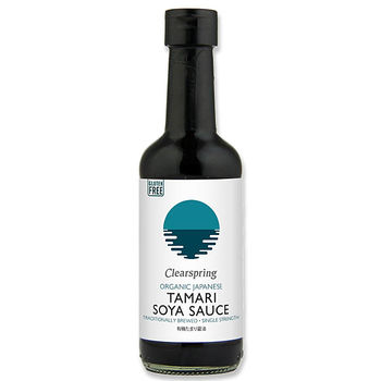 Organic single strength tamari soya sauce - gluten free 250ml
