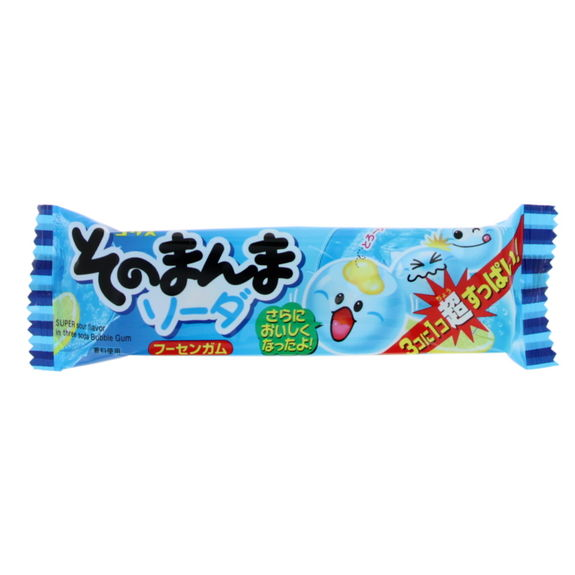 Soda flavoured chewing gum x3