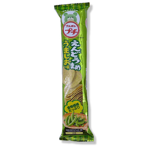 Mini chips green peas flavour 37g