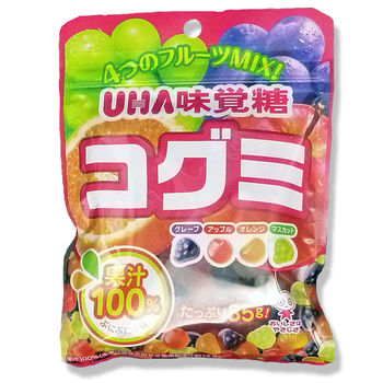 Mikakuto gummy mini fruits mix 85g