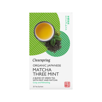 Organic matcha three mint tea (20 teabags)