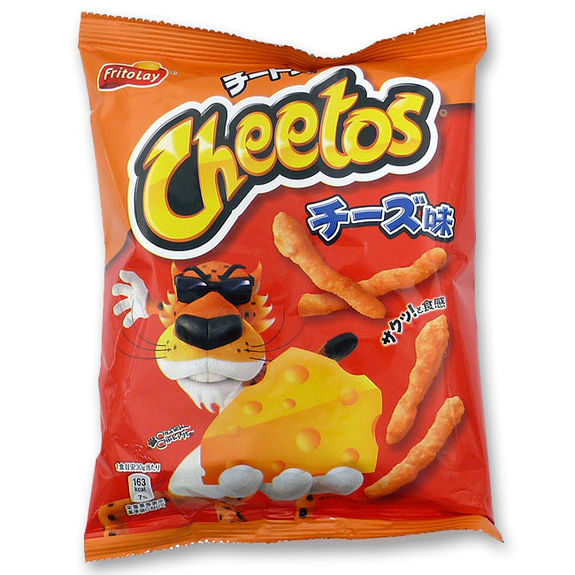 Crackers salés aux 3 fromages Cheetos 75g