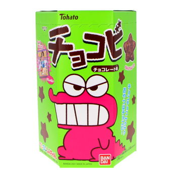 Crayon shin-chan chocolate snacks 25g