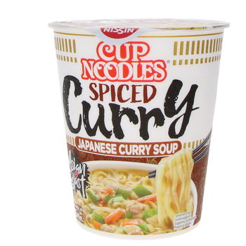 Japanese curry soup instant cup noodles 67g