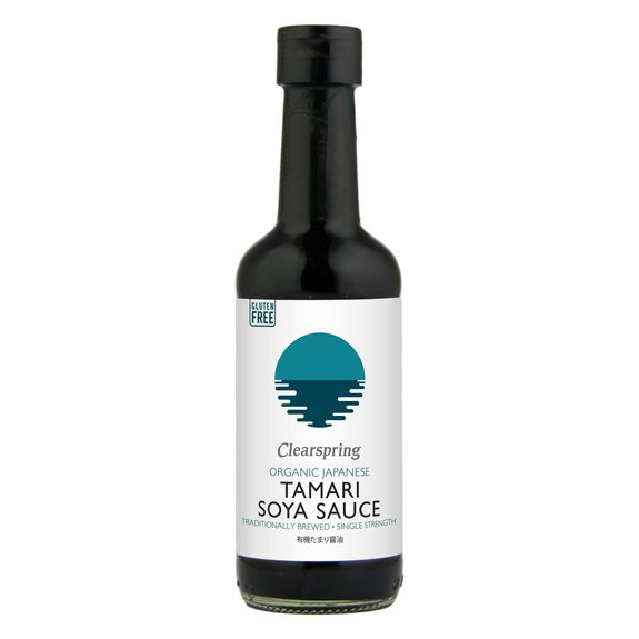 Organic single strength tamari soya sauce - gluten free 150ml