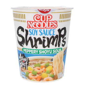 Cup noodles Shrimps & peppery shoyu soup 63g