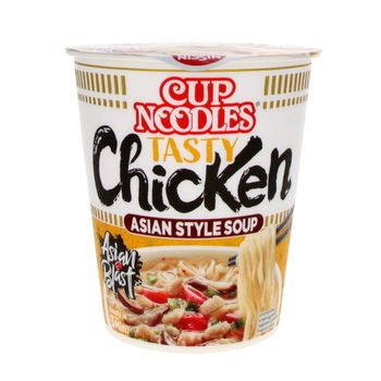 Nissin ginger & shiitake chicken cup noodle 63g