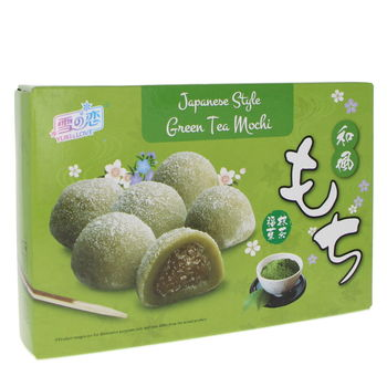 Japanese style mochi with green tea 210g