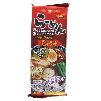 Ramen with soy sauce soup 188.4g