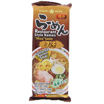 Ramen with Miso taste soup 188g