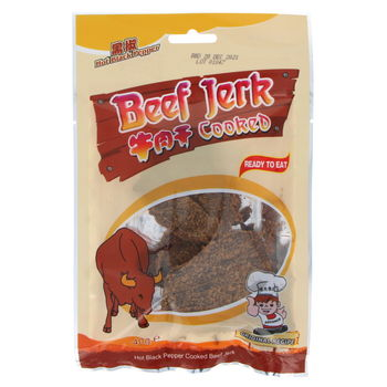 Hot black pepper cooked beef Snack 40g
