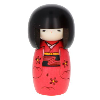 """Little kid"" red Kokeshi 13cm"