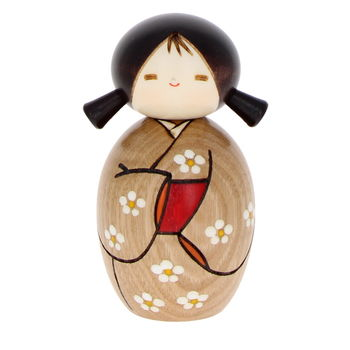 """Waiting for spring"" Kokeshi 10cm"