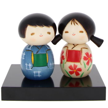 """Friendship"" Kokeshi 7cm"