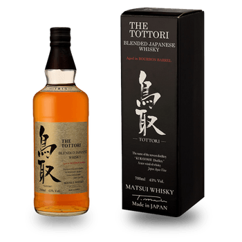 Whisky jap blended The Tottori 100% fûts bourbon 43° 50cl