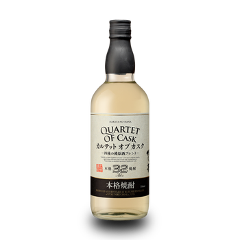Japanese quartet of cask barley shochu 32° 70cl