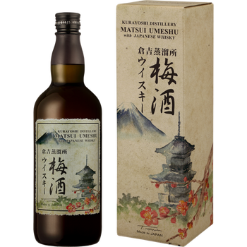 Umeshu with japanese whisky 14° 70cl