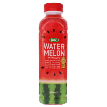 Watermelon drink with aloe 500ml