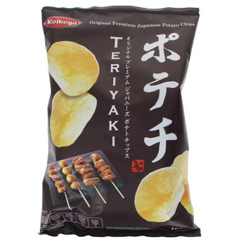 Japanese snack with teriyaki sauce 100g