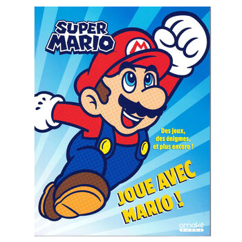 """Super Mario """"Play with Mario"""" Play book (in french)"""