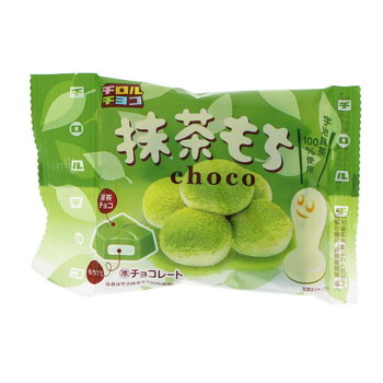 Japanese matcha litte chocolates with mochi heart 53g