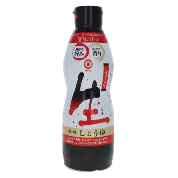 Fresh pressed unpasteurized soy sauce 450ml