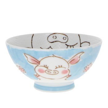 """Pig"" Rice bowl - small size"