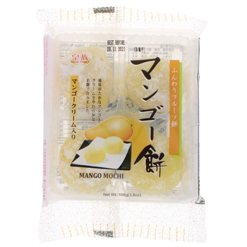 Mochi with mango and cream 108g (4p)