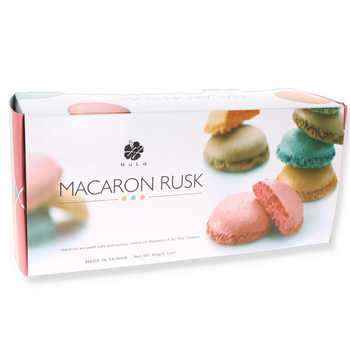 Macarons croustillants Assortiment 60g