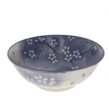 "Bowl for ramen noodles with  ""Sakura"" - Purple"