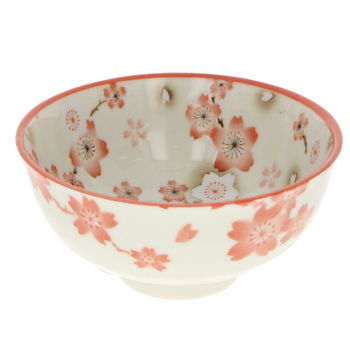"Rice bowl ""Ume"" - Red"