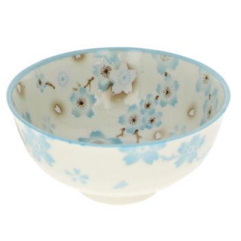 "Rice bowl ""Ume"" - Blue"