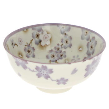"Rice bowl ""Ume"" - Purple"