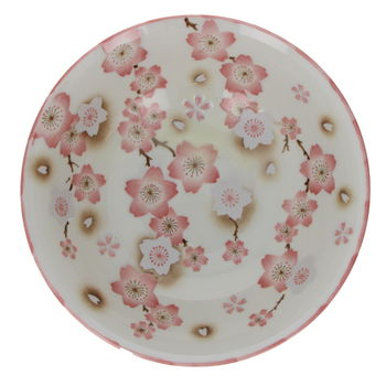 "Bowl for ramen noodles with  ""Ume"" - Pink"