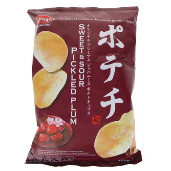 Japanese chips with pickled plum 100g