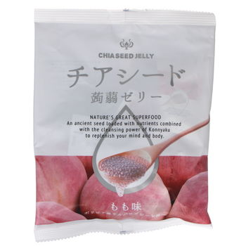 Konjac jelly and chia seeds from Japan - Grape flavor 165g