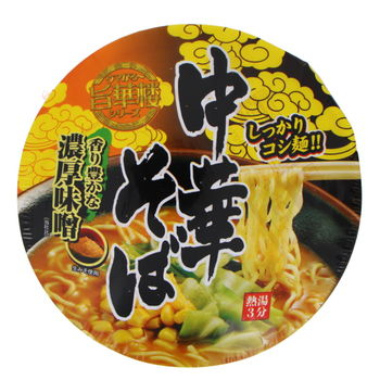 Chinese style miso Ramen noodles bowl 105g